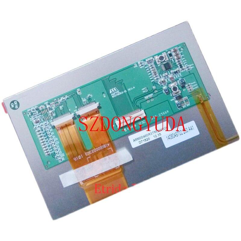 الأصلي A + 7 بوصة AM800480R3TMQW-TA شاشة الكريستال السائل لوحة الشاشة AM800480R3TMQWB2H