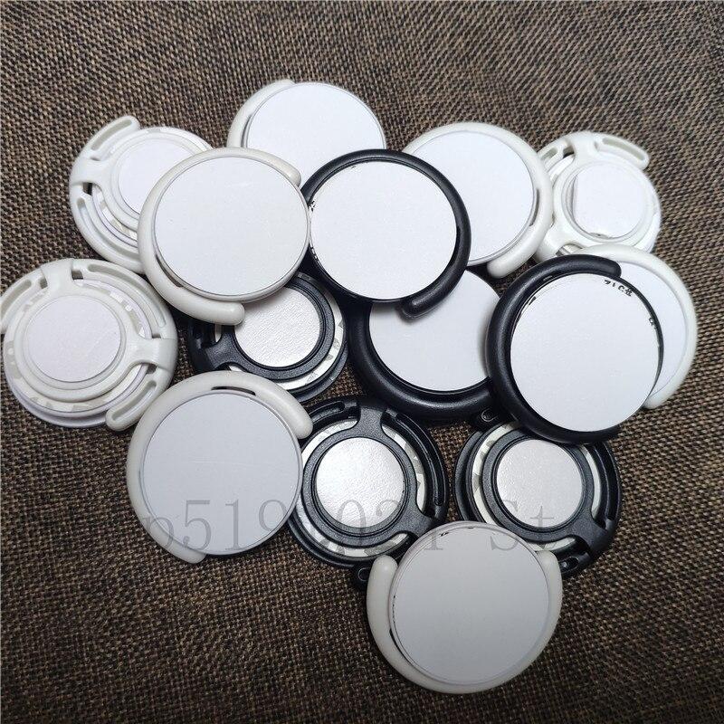 20 قطعة/الوحدة جديد التسامي فارغة الهاتف المحمول البلاستيك حامل مع إدراج المعدن الحرارة trasnfer الطباعة حالة الهاتف حامل حامل