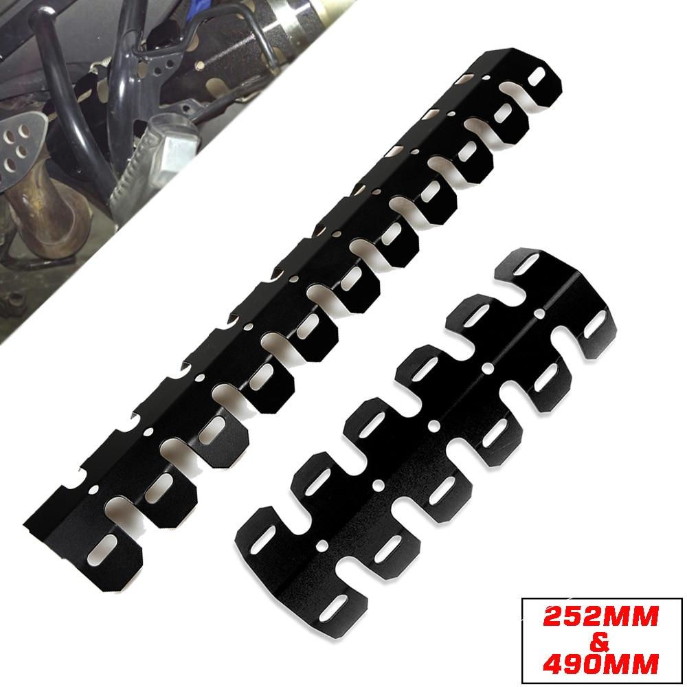 Высокое качество глушитель выхлопной трубы теплозащитный Чехол для YAMAHA TZR125 TZR250 WR400 WR450 XT225 TTR250 MT07 MT09