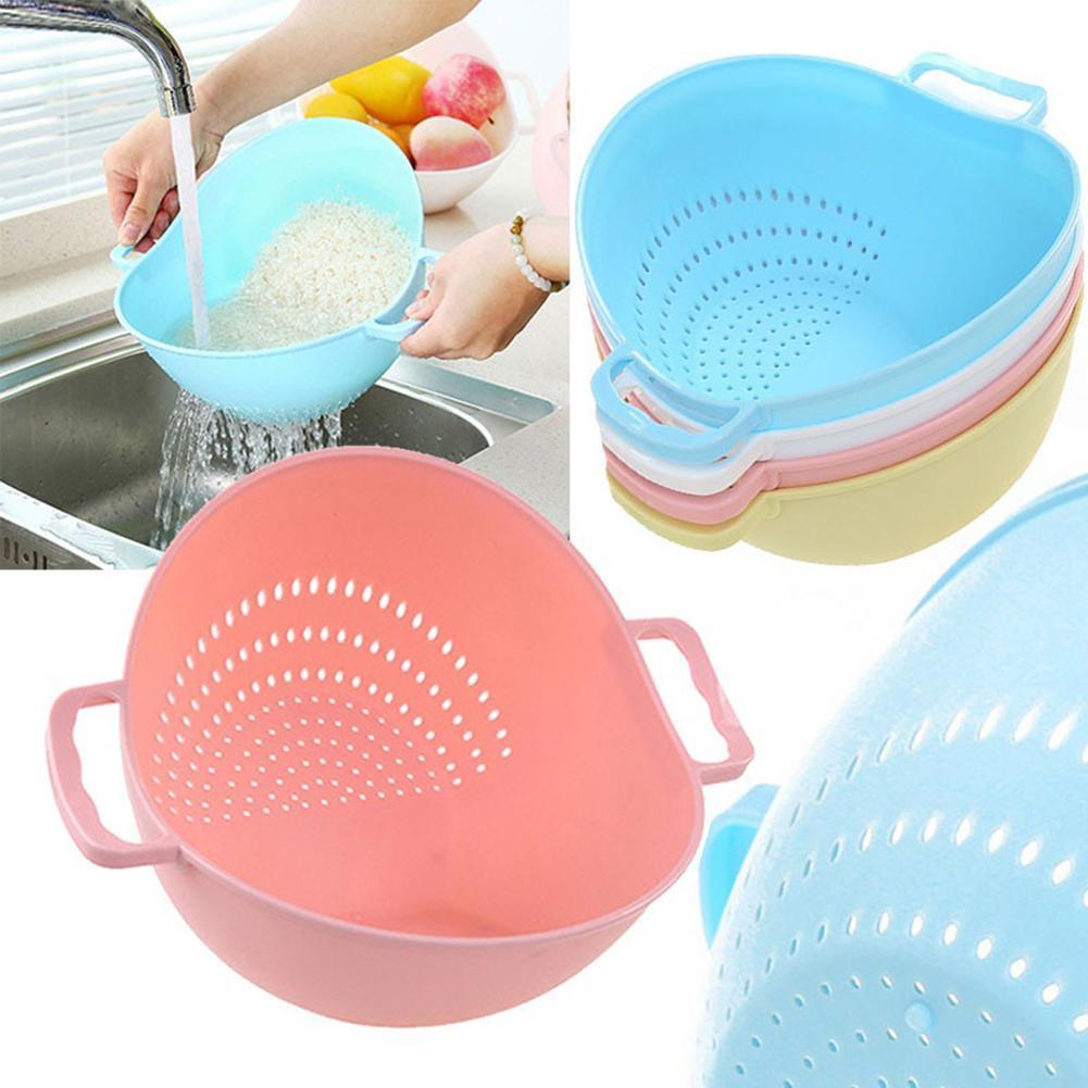 Rijst Wasmachine Zeef Keuken Gereedschap Fruit Groente Reiniging Container Mand Keuken Tools & Gadgets