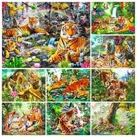 5d diamond painting animal tiger forest cross stitch kit diamond mosaic diy embroidery full rhinestone picture home decoration