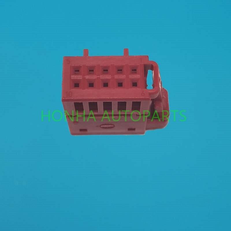 5/10/20/50 unids/lote 10 Pin/Way interruptor de elevación hembra Ajuste del asiento conector 6R0 972 930 A 6R0972930 A
