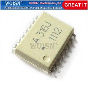 10PCS A316J HCPL-316J SOP16 SOP HCPL316J SMD ME9926A new original In Stock
