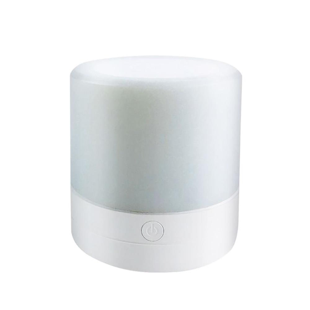 Mini usb led sensor de toque pode ser escurecido decoração luz ao ar livre atmosfera colorida lâmpada do bebê da criança quarto luz da noite