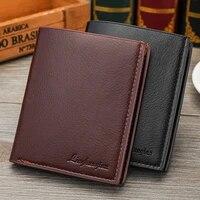 hot men business soft faux leather short wallet purse credit cards holder new men business short wallet purse credit cards ho