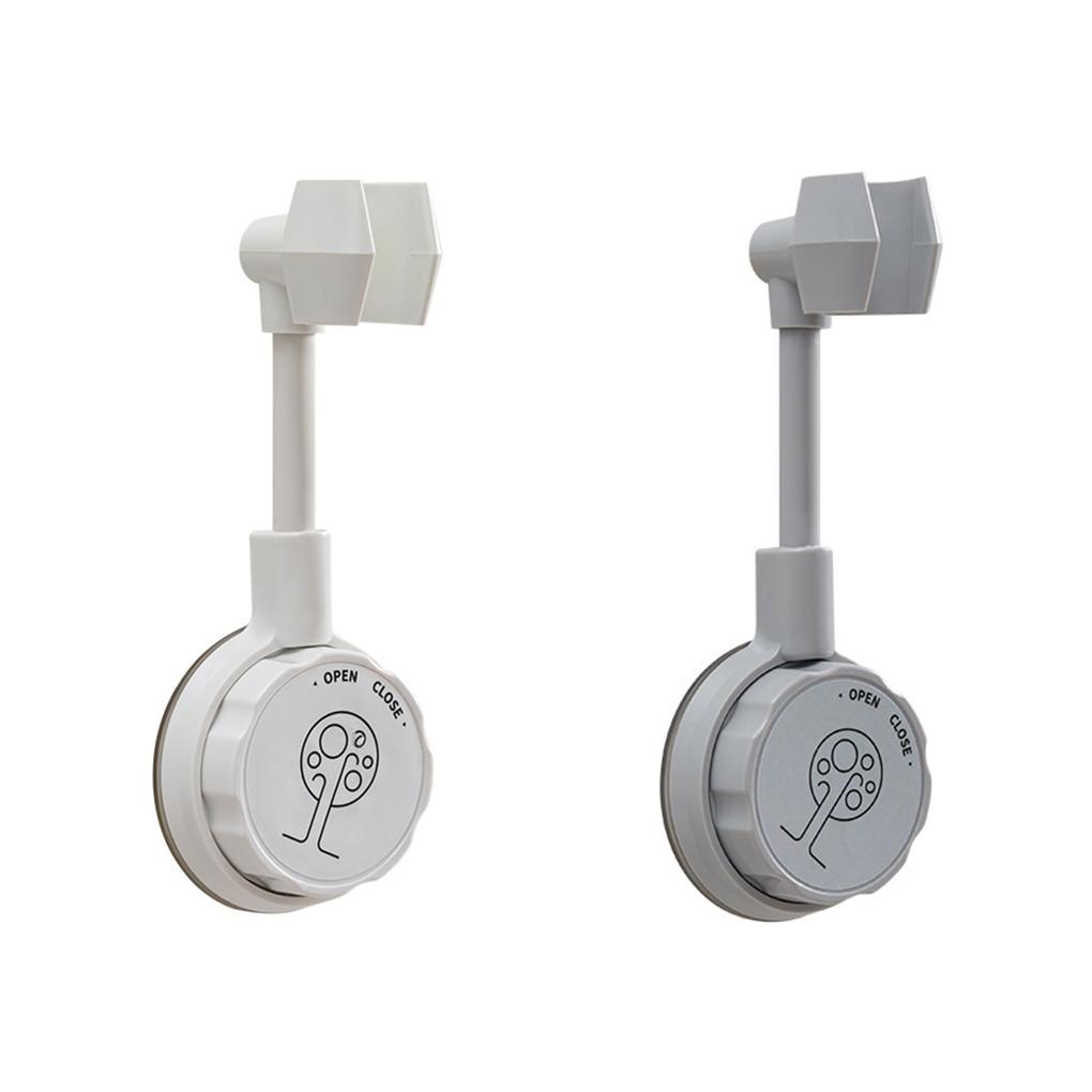 Suction Cup Shower Holder Adjustable Shower Head Holder Universal Bathroom Bracket Nozzle Base Stand