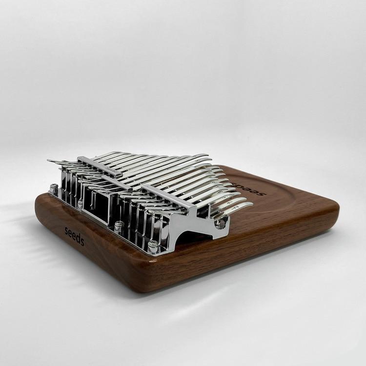 Thumb Piano Kalimba 17 Key High Quality Kalimba 34 Key Black Walnut Present Kalimba Solid Wood Teclado Musical Instruments DE50M enlarge
