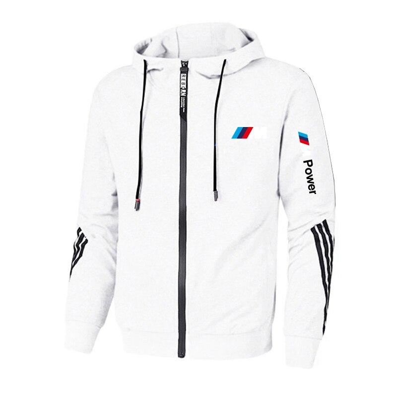 Новинка 2021, брендовая мощная мужская одежда BMW M, женская повседневная мужская куртка, толстовки, качественная спортивная одежда в стиле Хар...