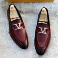 Skóra PU dla mężczyzn modne buty na niskim obcasie Fringe buty sukienka półbuty wiosna botki Vintage Classic męskie Casual XM192