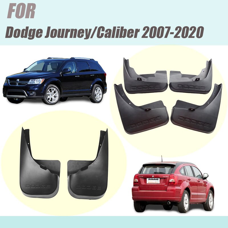 For Dodge Journey Fiat Freemont mudguards Dodge Caliber  fenders fiat freemont mud flaps splash guards car accessories 2007-2020