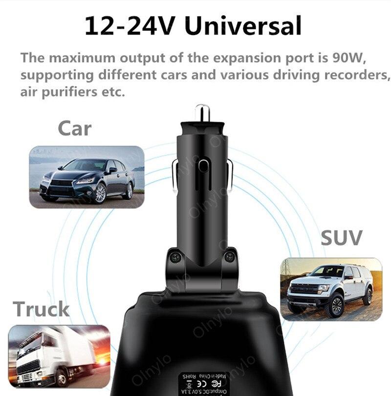 Автомобильное зарядное устройство с двумя USB-портами, 3,1 А-4
