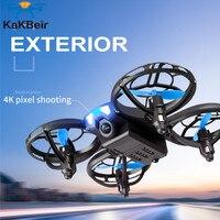 V8 мини Дрон 4K 1080P HD камера WiFi Fpv удержание высоты воздуха черный Квадрокоптер Радиоуправляемый Дрон игрушка
