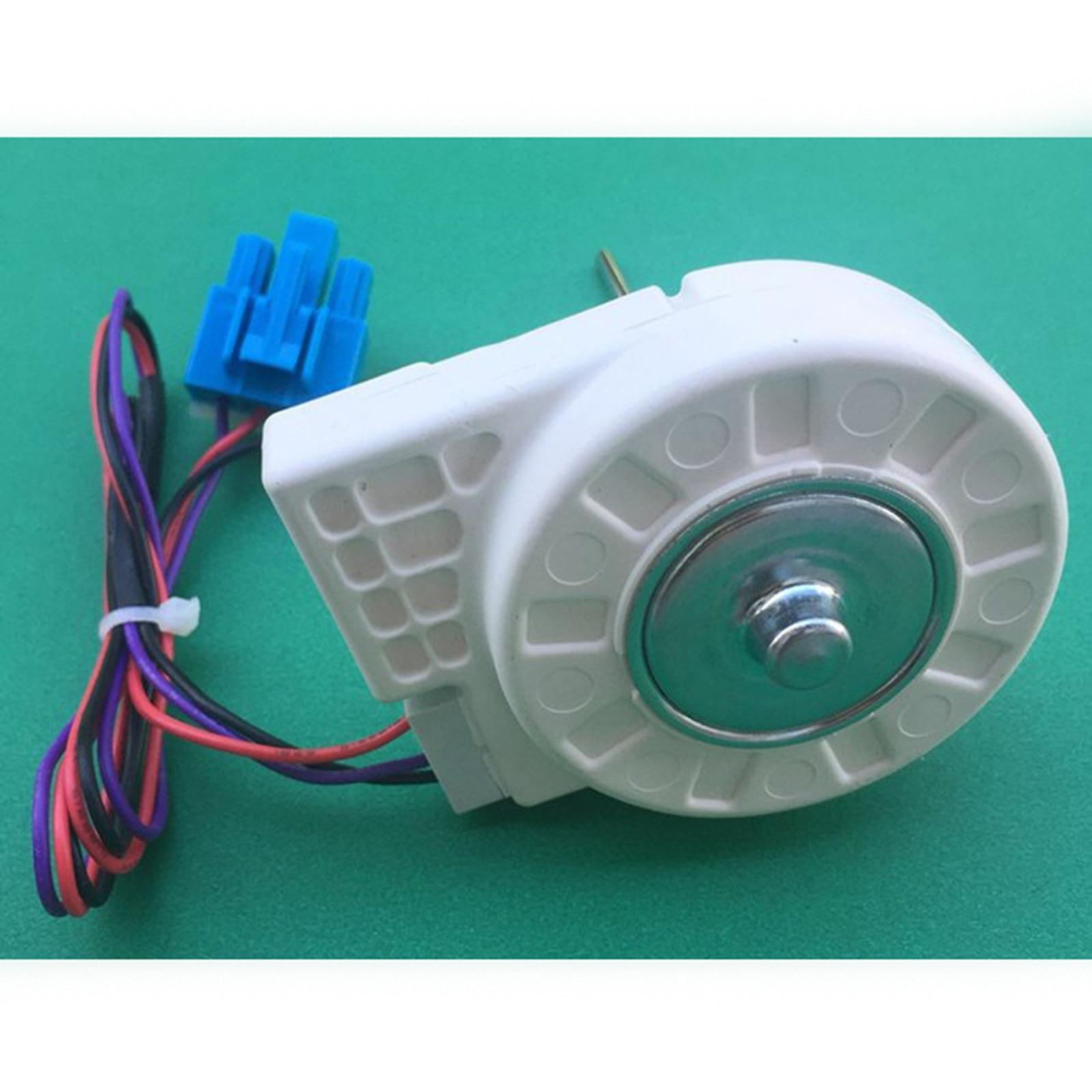 Substituição freezer motor de ventilador sem escova para midea porta dupla geladeira dla5985xqea peças dc10.4v 1.6 w