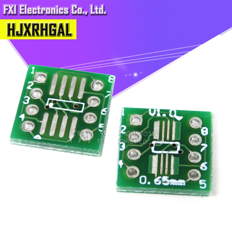 20 шт. TSSOP8 SSOP8 SOP8 К DIP8 плата передачи DIP Pin плата шаг адаптер igmopnrq