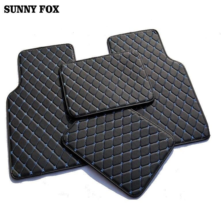 Universal Car floor mats for Citroen C4 Air Cross Picasso C2 C4L C-elysee DS5 LS DS6 5D car styling carpet floor liner
