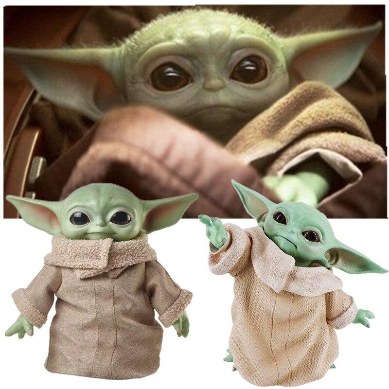 8CM/16CM Glow Yoda Baby Action Figure Toys Yoda Figure Toys Yoda Master Figuras Dolls Toy Gifts for