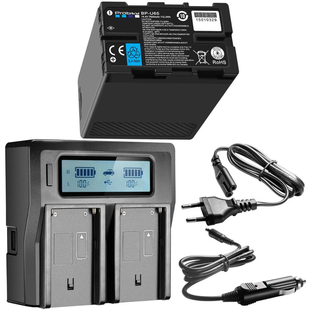 Batería de BP-U65 BP-U90 BP-U30 U90 de 7800mAh con función d-tap +...
