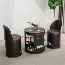 Industrie vent café chaise meubles rétro Sillas Comedor cuir synthétique Restaurant chaises Sillas Comedor Cadeira fauteuil