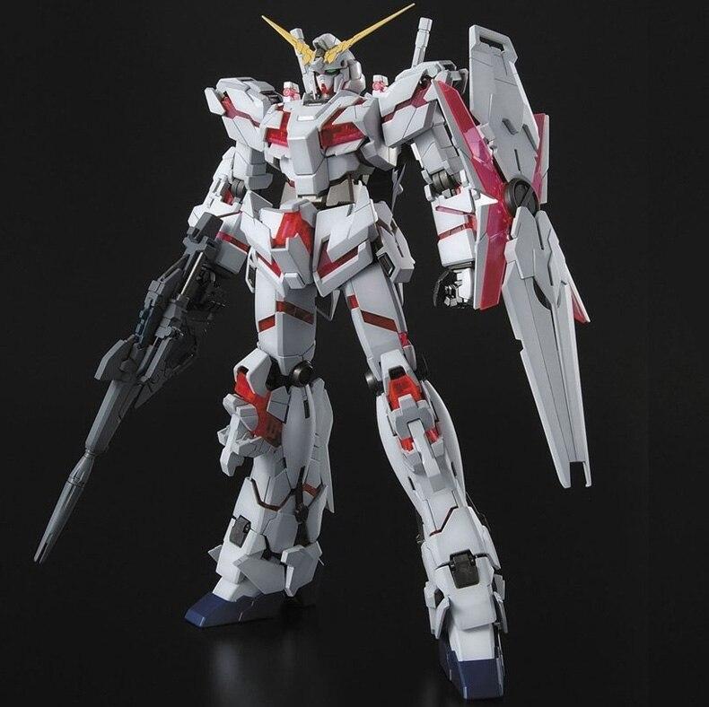 DABAN MG 1/100 Gundam modelo RX-0 destruir el modo GUNDAM unicornio Liberty Destroy Armor traje móvil niños juguetes con soporte