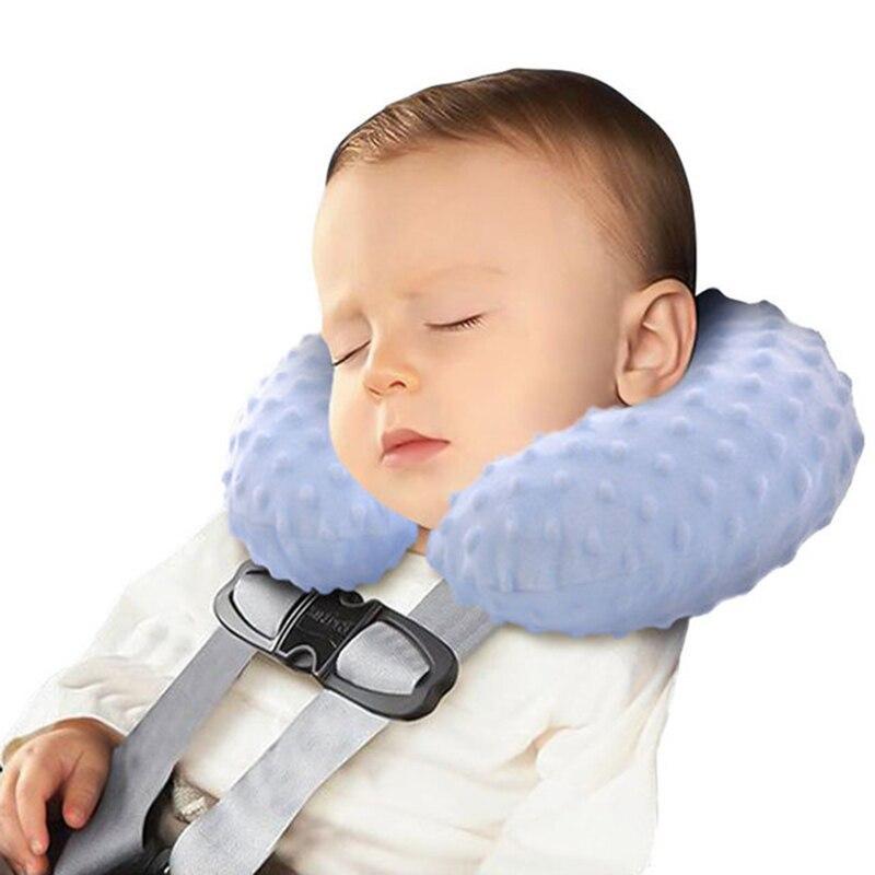Детские подушки, надувная Автомобильная подушка для шеи, Детская Автомобильная подушка на подголовник, под шею, автомобильное сиденье, подд...