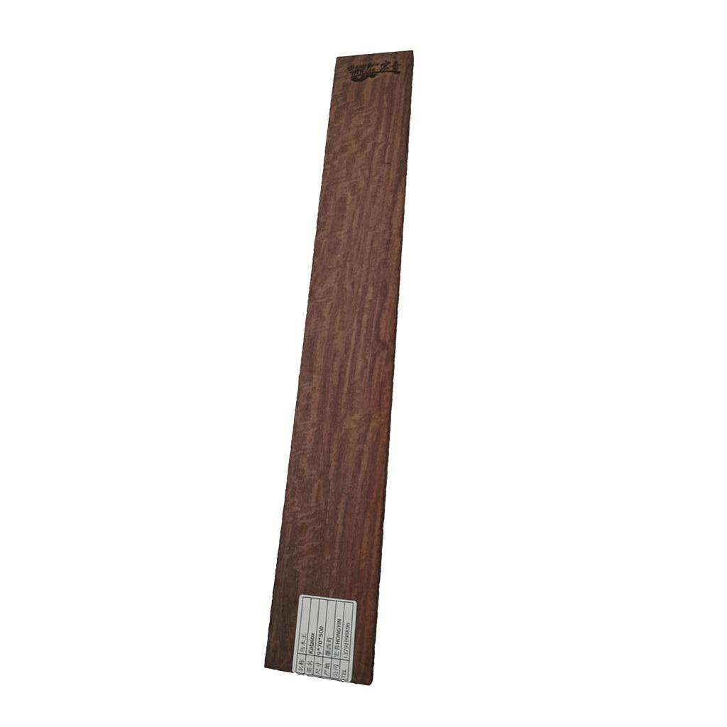 Diapasón de guitarra de madera de ébano de grado AAA, diapasón de guitarra en blanco