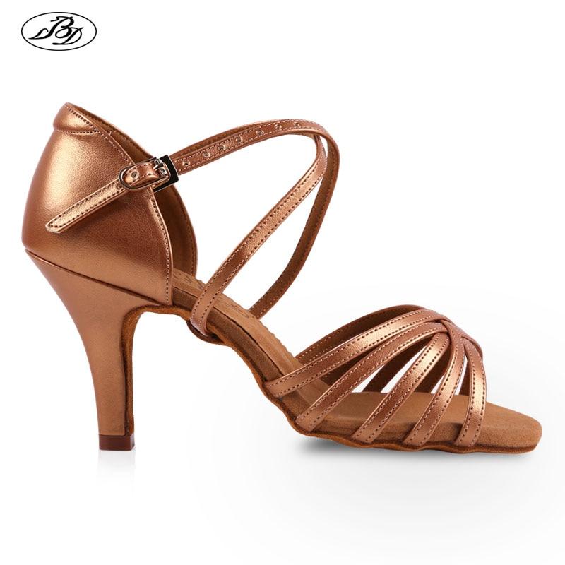 حذاء رقص ساتان نسائي ، حذاء رقص لاتيني ، كعب عالي ، نعل ناعم ، مشبك حجر الراين ، عرض خاص ، 216