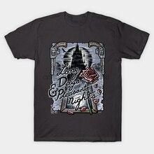Мужская футболка длинные дни & amp Pleasant Nights Dark Tower Gilead Gunslinger Stephen King Quote T Shirt wo Мужская футболка тройники