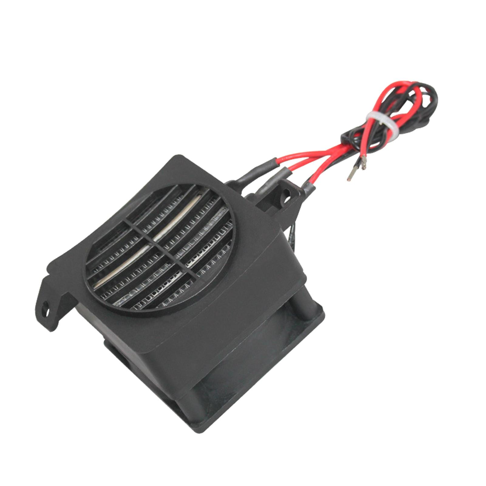 220 فولت 300 واط حاضنة H-آكل نوع موصل PTC السيراميك الهواء H-الآكل مع مروحة التدفئة الكهربائية أداة 90*60 مللي متر سخان
