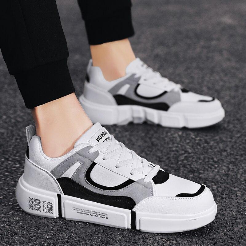 Мужская спортивная обувь, мужская обувь 2020, Повседневная дышащая мужская обувь, модная мужская повседневная Осенняя обувь