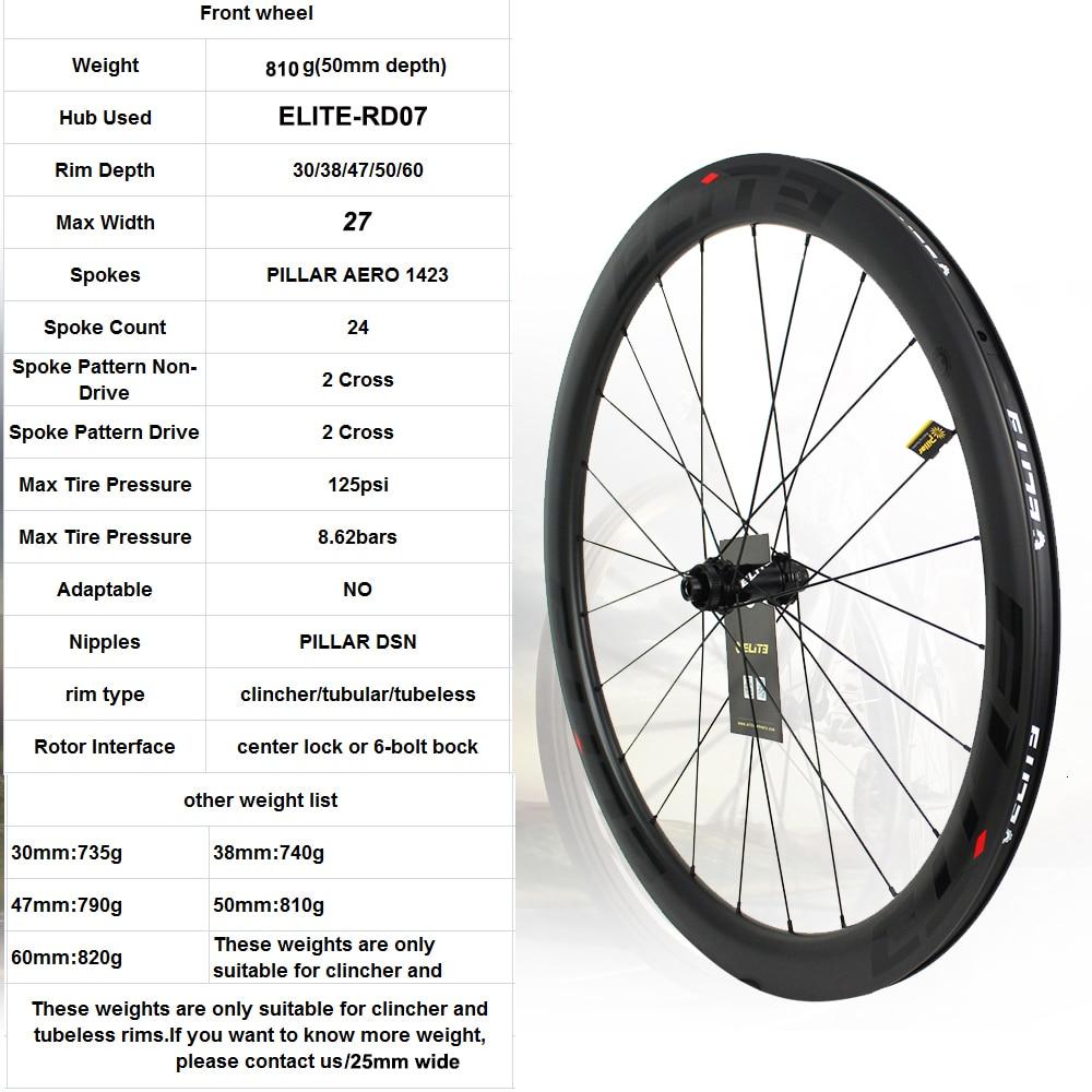 ELITEWHEELS Carbon Wheels Disc Brake 700c Road Bike Wheelset ENT UCI Quality Carbon Rim Center Lock Or 6-blot Bock Road Cycling