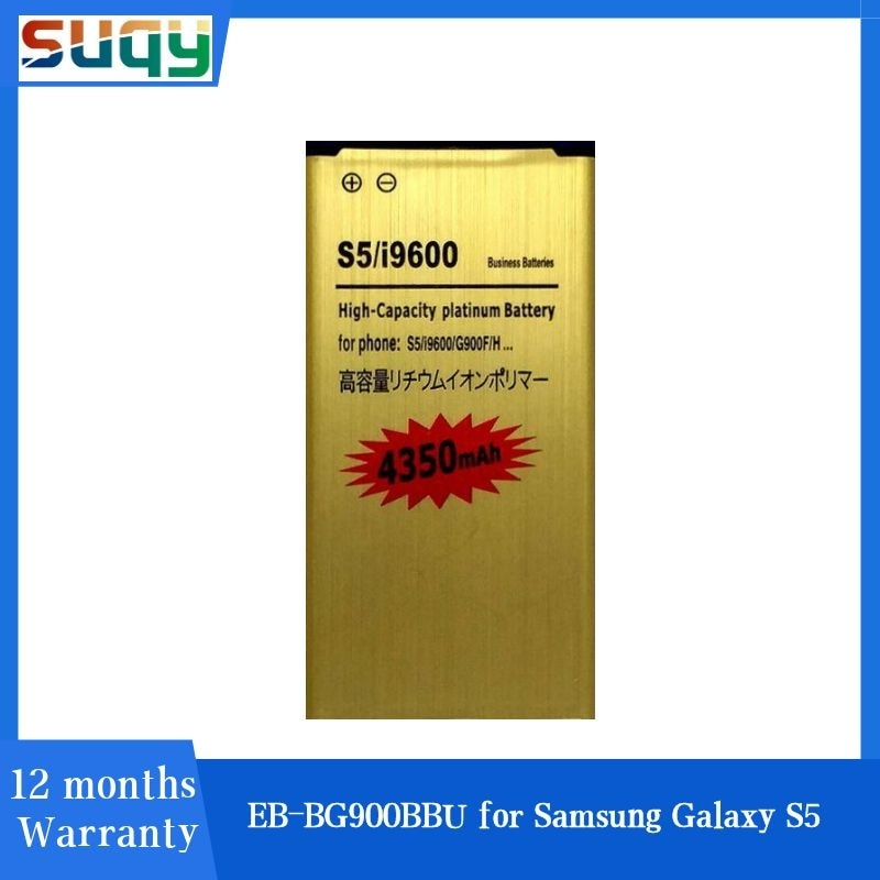EB-BG900BBU Suqy para Samsung Galaxy S5 EB-BG900BBC de batería para Samsung S5 EB-BG900BBE de batería I9600 G900F G9008V 9006v Bateria