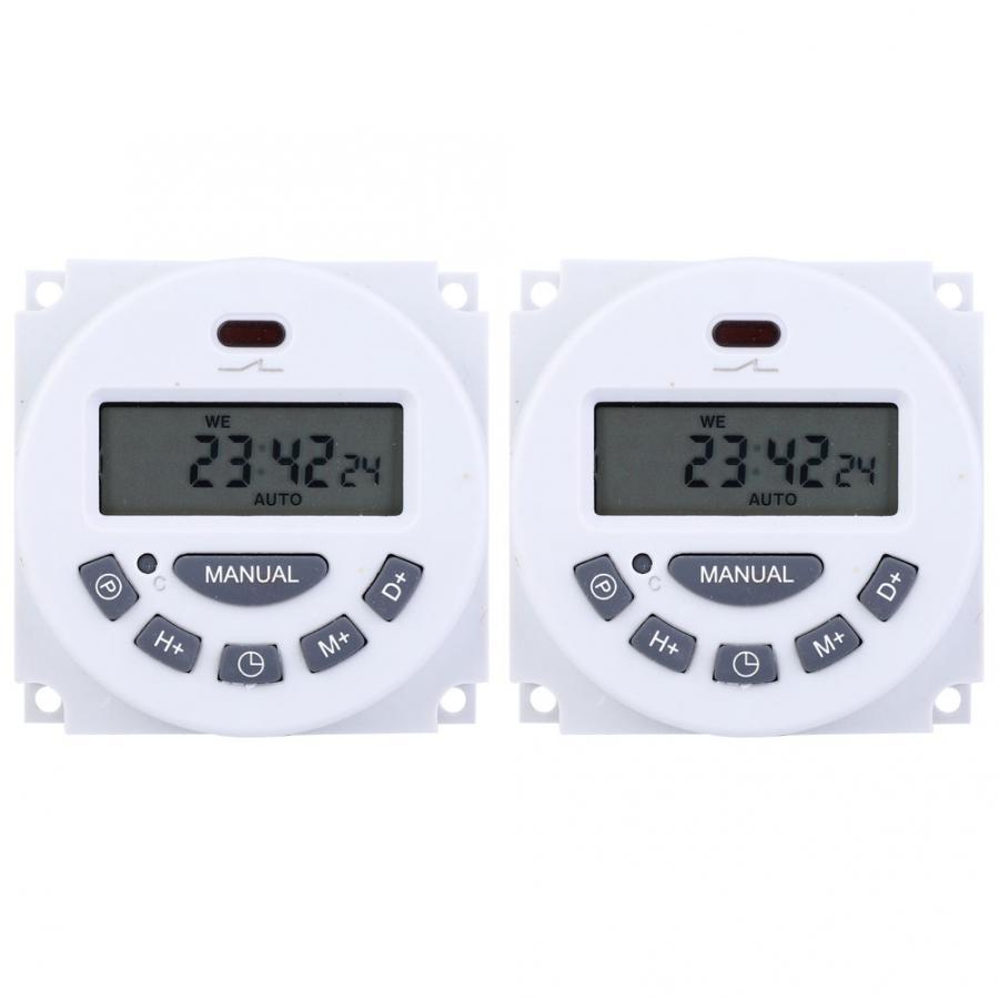 Temporizador Digital L701 de alta precisión Mini LCD pantalla Digital Temporizador Control...