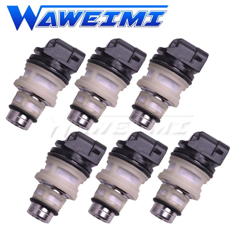 WAWEIMI 6 PEÇAS do Injector de Combustível OE L4 D224A5278 Para Chevrolet Cavalier RS 2.2 1990-1991