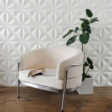 Juego de 12 unidades de papel tapiz 3D para decoración de paneles de pared, azulejos de techo, decoración de fondo de papel de pared, pegatina decorativa DIY para pared de salón