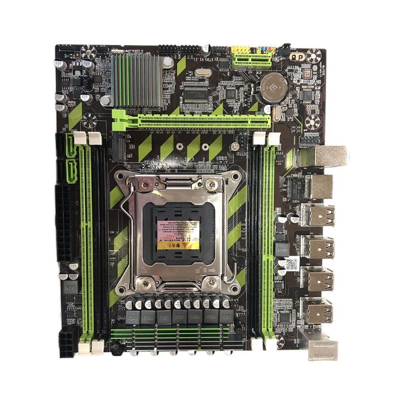 اللوحة الأم X79G M.2 لوحدة المعالجة المركزية LGA 2011 DDR3 ، لـ In-tel Xeon E5 Core I7 CPU