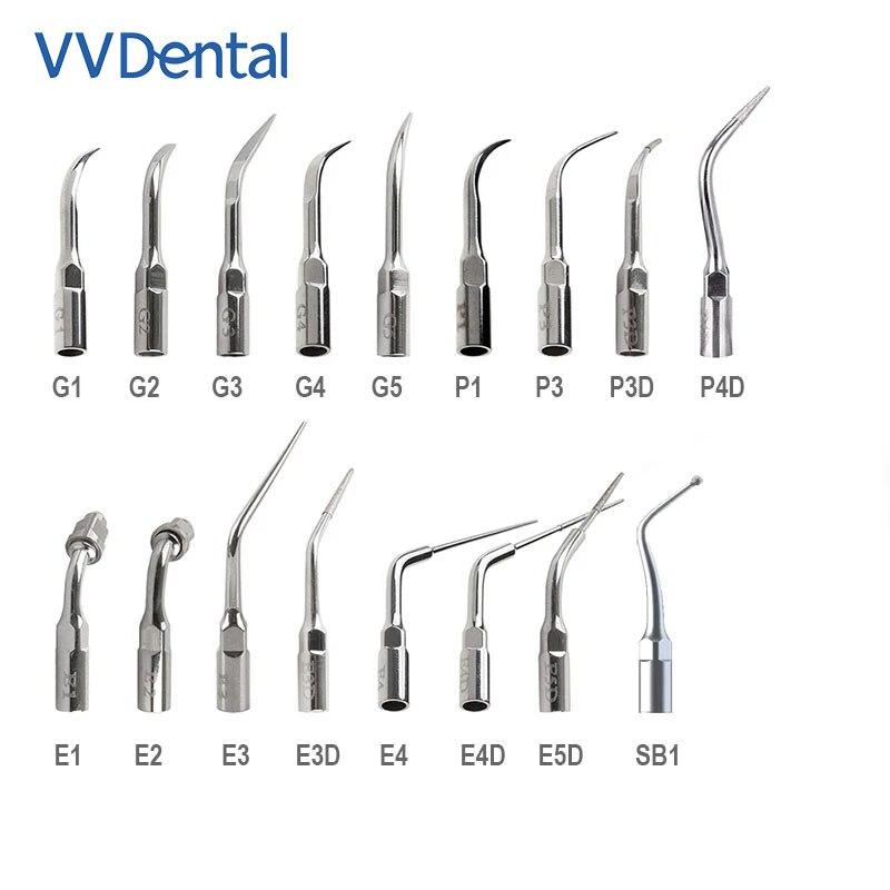 VVDental Outlet Store, стоматологические ультразвуковые наконечники скалера, совместимые с фотографией/Woodpecker UDS, стоматологический инструмент для о...