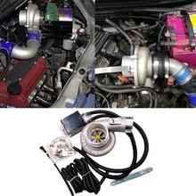Prise électrique automatique de filtre à Air de turbocompresseur de moto de poussée de Kit de compresseur de Turbo pour toute la voiture améliorent la vitesse