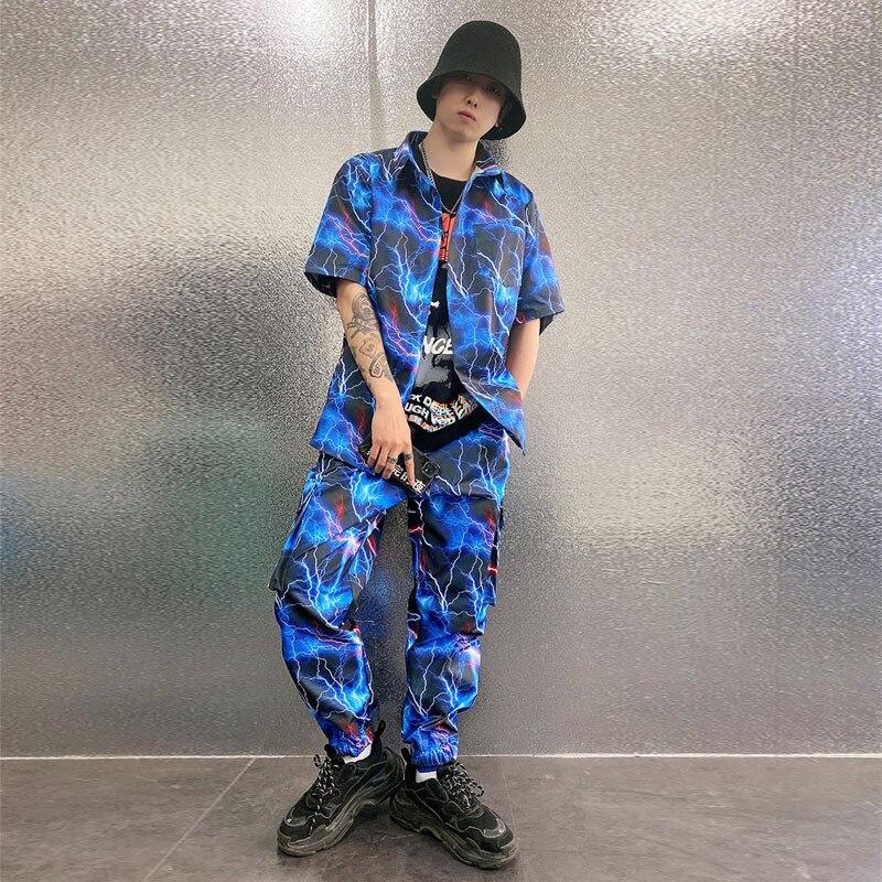 الرجال الشارع الشهير الهيب هوب سراويل تقليدية فضفاضة الذكور مرحلة عرض الموضة الحريم البضائع بنطلون رجل عداء ببطء Sweatpants حجم M-6XL