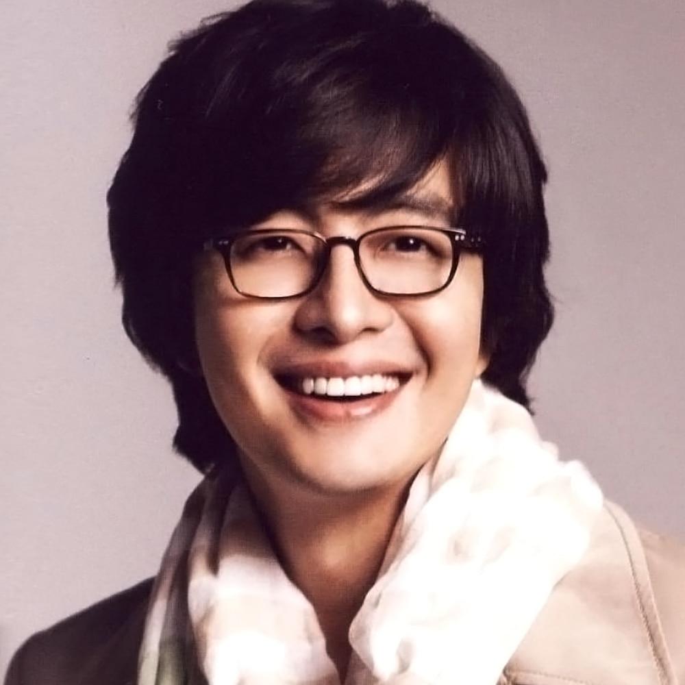الكورية تصميم الرجعية مربع النظارات الإطار للرجال Bae يونغ جوه النظارات صغيرة الحجم مستطيل رقيقة خلات نظارات الديوبتر