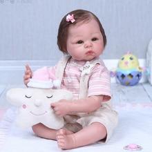 52cm Boutique Silicone nouveau-né bébé poupée comme réel bebe reborn doux nouveau-né bébés poupées jouets enfants cadeau danniversaire