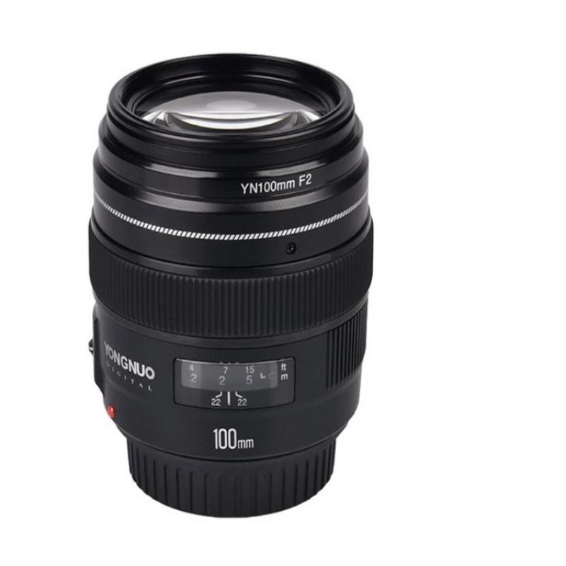 100MM YN100mm F2 Large Aperture Medium Telephoto Prime Lens for  EF Mount 5D 5D IV 1300D T6 760D 1300d 6d 600d 80d