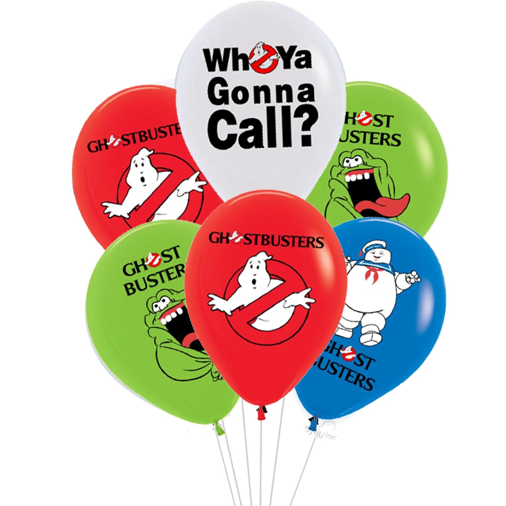 Ghostbuster Balloons Halloween Ghost Theme Party Decor Baby Birthday Party Decorations Toys For kids
