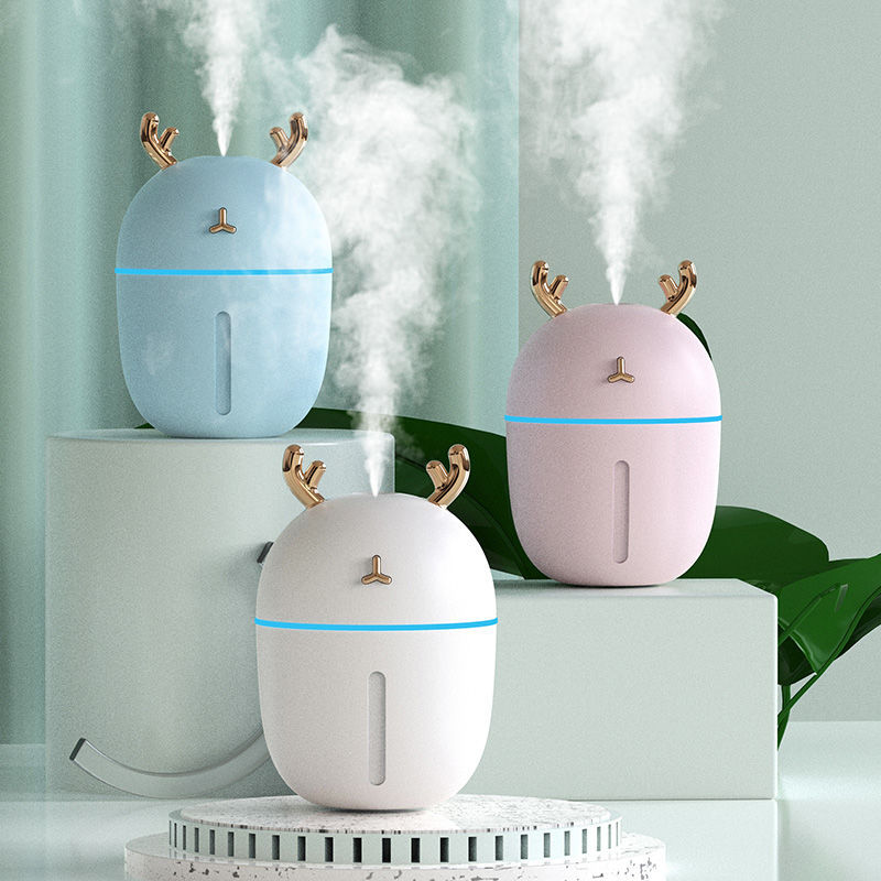 Humidifier Household Bedroom Small Mini Air Fragrance Purification Sprayer Water Replenishing Instrument USB Air-conditioned Roo