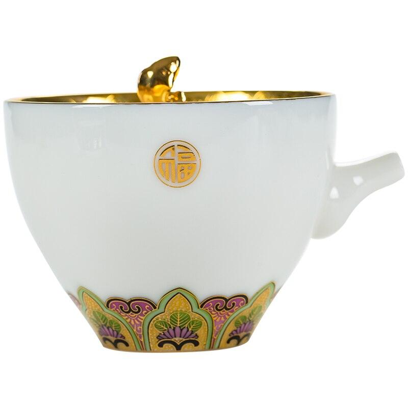 عرض تحصيل الإبداعية إبريق الشاي خمر السيراميك اليدوية قسط طقم شاي صيني الأعمال الصغيرة Theepot براد شاي Ed50cf