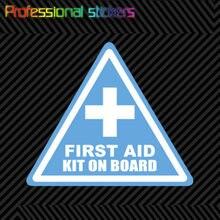 Комплект первой помощи, наклейка на доску, вырезанная наклейка, Виниловая наклейка для безопасной езды по бездорожью, для мопедов, автомобилей, ноутбуков, телефонов