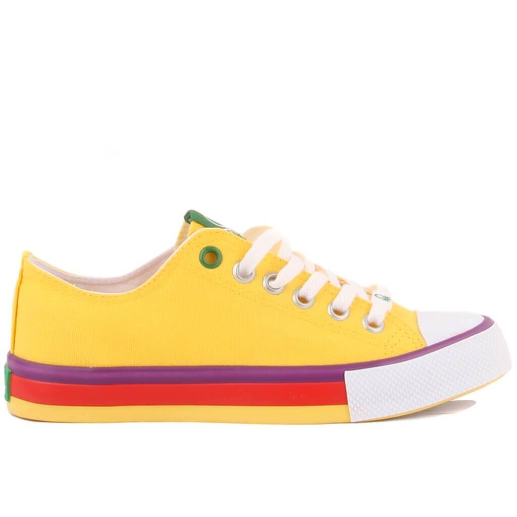 بينيتون النساء حذاء رياضة حذاء كاجوال الأحذية اليومية أحذية مفلكنة أحذية رياضية zapatos de mujer
