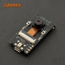 Novo dfrobot esp olho aiot placa de desenvolvimento esp32 2 megapixel suporte da câmera wifi imagem transmissão rosto detectar reconhecimento
