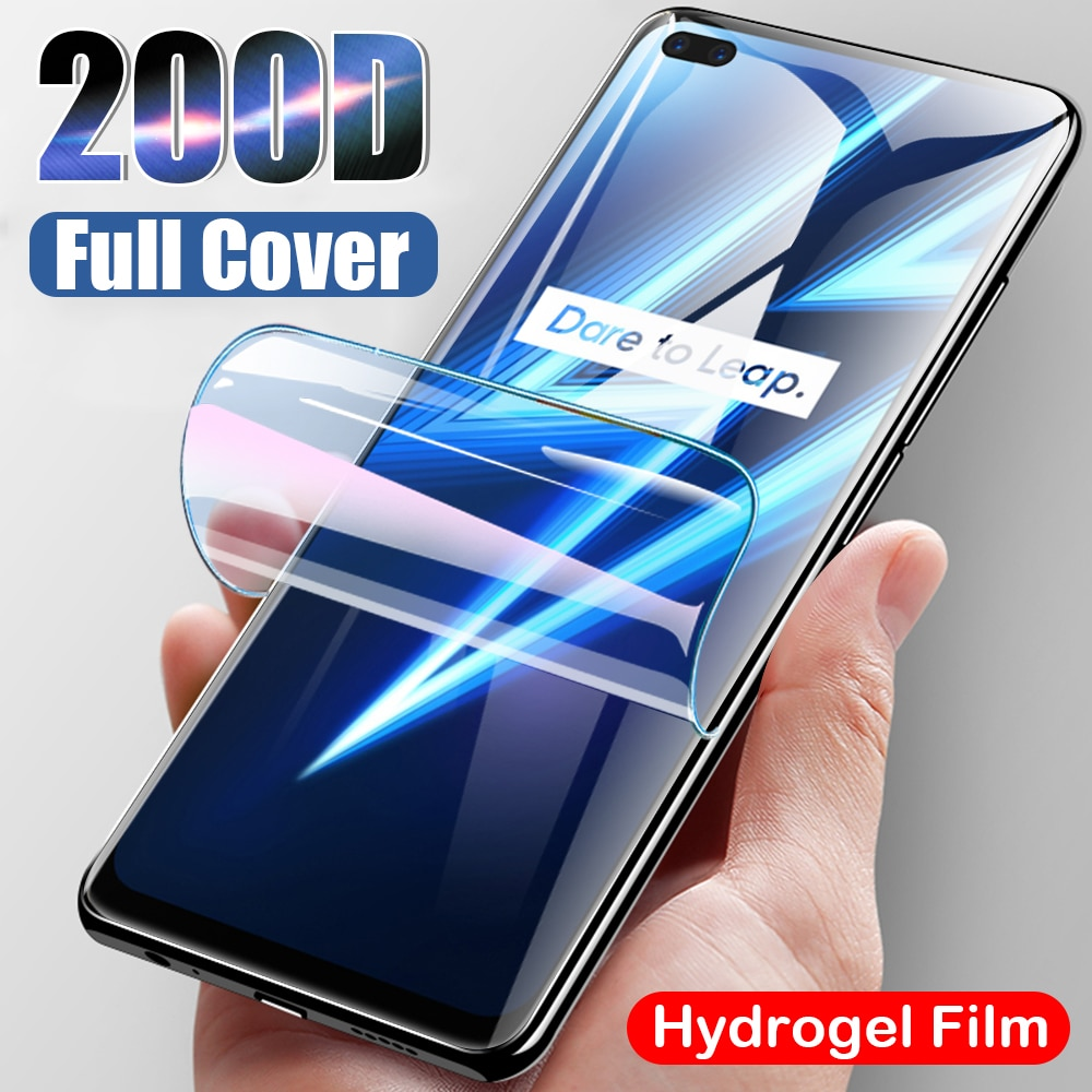 On Realme 6pro Hydrogel Film For Oppo Realme 6 7 Pro 6 6i 7i Case Screen Protector On Realmi 6 8 Pro Front Safety Hard