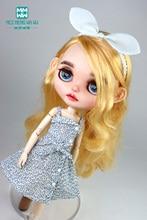 Fits Blyth Azone OB23 OB24 1/6 doll accessories Fashion suspender skirt, denim jacket, shoes
