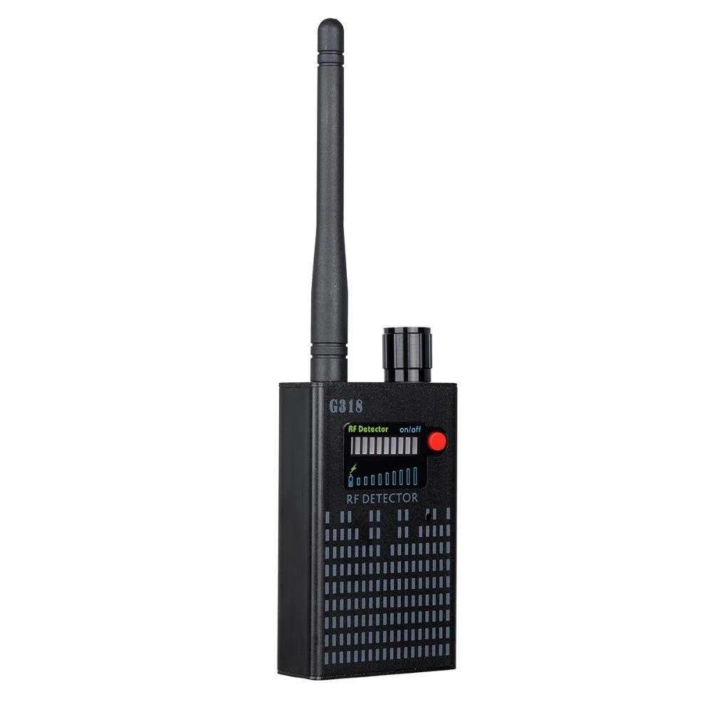 G318 Anti Wireless Camera Detector Gps Rf Mobile Phone Signal Detector Device Tracer Finder 2G 3G 4G Bug Finder Radio Detection enlarge
